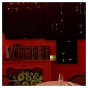 Le salon garance, hommage à la trisaïeule de Charles de Saint-Vincent.