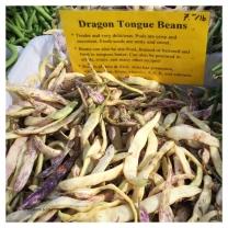 Dragon tong beans