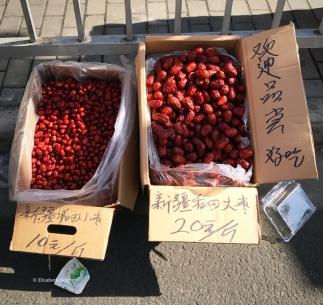 Fruits secs Jujubes